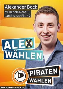 "Wahlplakat: ""Ale[x] wählen"""