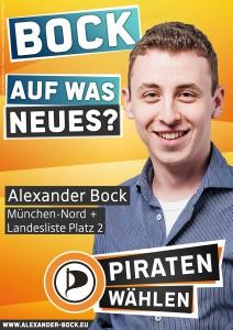 """Wahlplakat: """"Bock auf was neues?"""""""